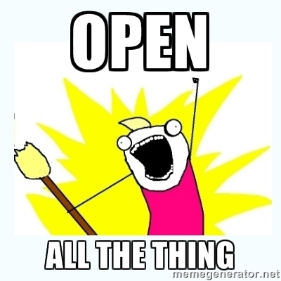 open all the things